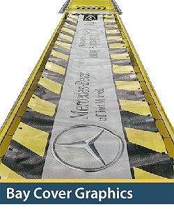 safety bay cover graphics