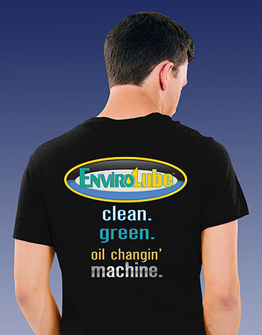 EnviroLube black shirt