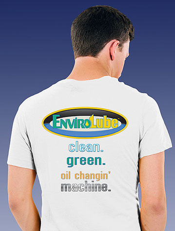 EnviroLube white shirt