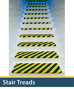 industrial anti-skid stair treads