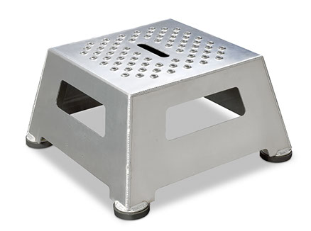 Integrated Lube Services industrial step stool standard heigth