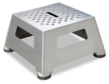 Heavy Duty Standard Step Stool  sc 1 st  LSI Engineered Products & Industrial Step Stool | Aluminum Step Stool islam-shia.org